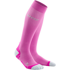 cep Run Ultralight Socks Women, electric pink/light grey